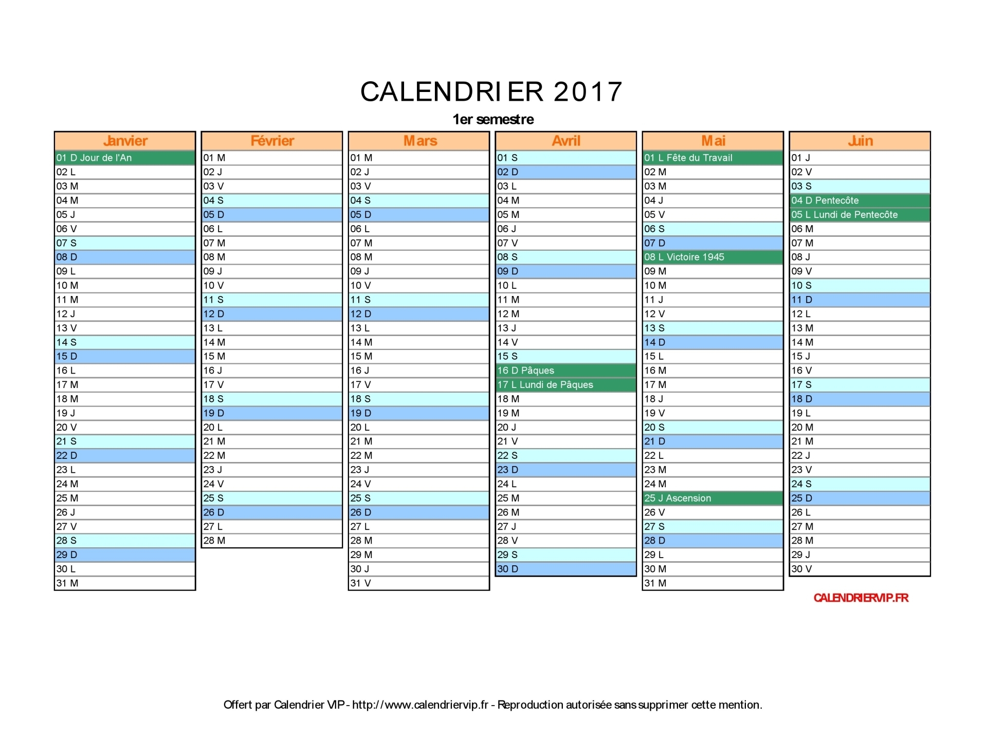 Calendrier 2017 vierge inter odon football club - Calendrier lunaire notre temps 2017 ...